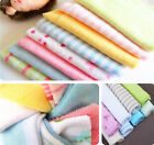 8PCS/LOT Cute Colorful Baby Wash Towel Soft Cloth Bath Clean Cloth Flannel Wipe