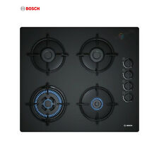 BOSCH POH 6B6B10 Built-in Black Glass Kitchen Gas Hob WOK Burner Brand New!!!