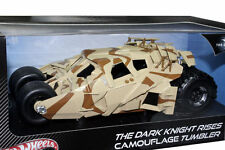 1:18 HOTWHEELS THE DARK KNIGHT RISES CAMOUFLAGE TUMBLER BATMOBILE