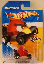 Hot Wheels 2012 New Models Angry Birds RED BIRD  QUANTITY