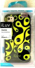 iLuv Aurora GLOW-IN-THE-DARK Case For iPhone(R) 4/4S - ICC765BLK Retail Packed