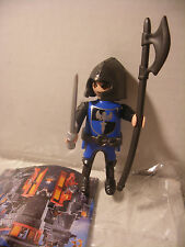 playmobil Chevalier Bleu inedit Knigth edition speciale QUICK FRANCE Neuf