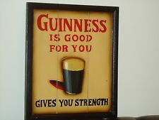 Guinness Wooden plaque 3D Sign    Pub Drink Beer Bar Man Cave Nice Gift