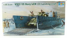 #e3152 kit modelo 347 marine landungsboot WW II US Navy LCM (3) escala 1:35