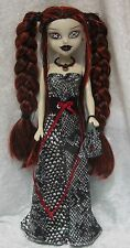 BeGoths BLEEDING EDGE Gothic Doll Clothes #38 Dress, Corset, Purse, Necklace
