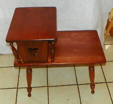 Cherry Step End Table / Side Table by Ethan Allen (RP-T523)