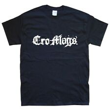 CRO-MAGS T-SHIRT sizes S M L XL XXL colours Black, White