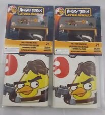 Angry Birds Star Wars Peel & Sticks Wall Decals Lot of 2