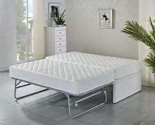 SINGLE bed Base with Trundle bed (Add your own top Mattress) 5 ys warra