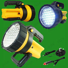 37 LED Rechargeable Lantern Spotlight Torch 1 Million Candle Power, Work Camping