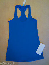 Lululemon Cool Racerback CRB tank in Beaming Blue Size 8 10