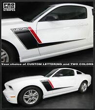 Ford Mustang Roush Style Side Stripes Duo Color 2013 2014 2010 2011 2012 '13 '14
