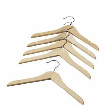NEW IKEA 5 pcs Natural Wooden Baby Kids Clothes Hangers Coathangers Coat Hanger