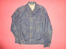 Levi Strauss 70501 Men's Blue Denim Jean Jacket - Size Small - V9