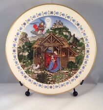 "Collector's Plate- Fritz Wegner Christmas Plate 1981- ""The Holy Child"""