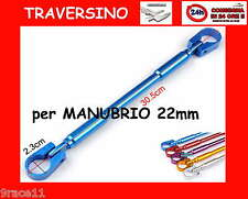 traversino rinforzo per manubrio  22mm cross enduro quad 1pz pit bike anodizzato