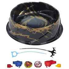 Super Vortex Battle Set Beyblade New Metal 2 Beystadium Tops Arena Fusion 3 Gree