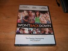 Won't Back Down Inspired by Actual Events (DVD, 2013) Holly Hunter Drama NEW