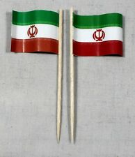 Party-Picker Iran 50 Stk. Profiqualität Dekopicker Papierfähnchen Food Flagge