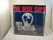 THE DIXIE CUPS Chapel Of Love SEALED German 1982 LINE 5161 NM vinyl, VG+cover