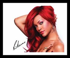 RIHANNA AUTOGRAPHED SIGNED & FRAMED PP POSTER PHOTO