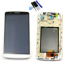 Replacement LCD Digitizer Touch Screen Assembly For LG G3 D855 D850 with Frame