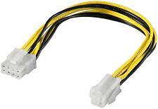Mainboard Stromadapter ATX 1.3 4 Pin Buchse 12Volt auf 8 Pin EPS Stecker ATX 2.0