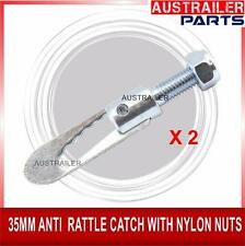 35MM ANTI RATTLE LATCHES/CATCHES WITH NYLON NUTS FOR TRAILER TAILGATE