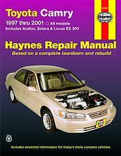 Haynes Repair Manual Solara '99-'01 Camry '97-'01 Avalon '97-'01