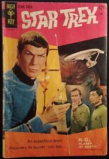 1967 GOLD KEY STAR TREK #1 3.0 GD/VG NICE BACK COVER PIN UP SHATNER KIRK COMIC