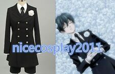 30%OFF Black Butler Ciel Phantomhive funerals' suit Cosplay Costume Male's Suit