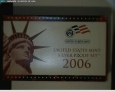 2006-s Silver Proof Set with box and COA