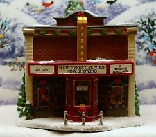 "ST NICHOLAS SQUARE VILLAGE COLLECTION ""MAIN STREET MOVIE THEATER"" ***EXC. COND"