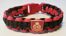 RMP (ROYAL MILITARY POLICE) PARACORD WRISTBAND