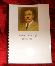 Arthur Conan Doyle - Last Will & Testament - Limited Edition Report 'from' 1930