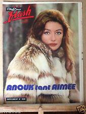 ▬► Flash Nous Deux 1535 de 1976 Anouk Aimée_Mireille Mathieu_Shuky et Aviva