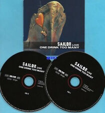 SAILOR + 2 CD + LIVE + One Drink Too Many + 25 Hits + z.T. unplugged + NEU +