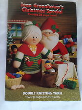 JEAN GREENHOWE'S CHRISTMAS SPECIAL DOUBLE KNITTING WOOL KNITTING PATTERNS DOLLS