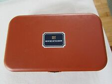 vintage hardy neroda foam lined slim trout fly fishing box unused