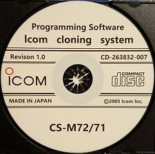 Icom CS-M72/71 Software for IC-M71 and IC-M72 Radios Revsion 1.0