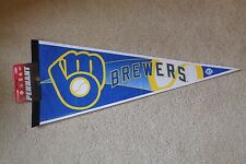Milwaukee BREWERS MLB full-size stadium PENNANT by Rico Industries - New w/ Tags