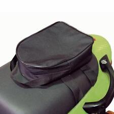 Lock And Chain Pouch Holder Bag Pillion Seat Rear Rack Fitting  Security Storage