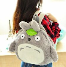 New Studio Ghibli Totoro Soft Plush Bag Backpack