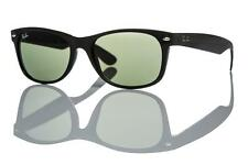 New Authentic Ray-Ban Sunglasses RB 2132 901L 55mm Black Crystal Grey Green