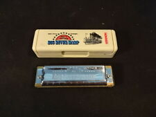 Big River Harp Harmonica M. Hohner In Original Case Made In Germany