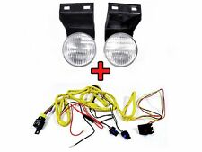 DEPO 94-98 Dodge Ram Pickup Truck Replacement Fog Light + Wiring Harness Set