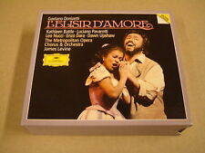 2-CD BOX DEUTSCHE GRAMMOPHON / DONIZETTI - L'ELISIR D'AMORE / JAMES LEVINE