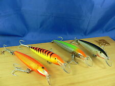4 Rapala Magnum Floating Rare color come foto HT, GF, SH, CNL 11cm 15gr  F2