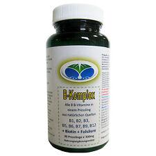 Vitamin B Komplex, 100% des Tagesbedarfs, 90 Presslinge a 300mg