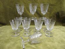 12 verres à vin porto cristal saint Louis Tacite? (crystal wine glasses)